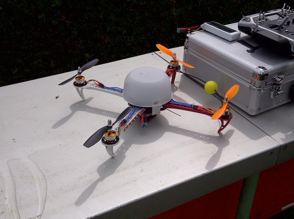 Der Quadrocopter von Franz