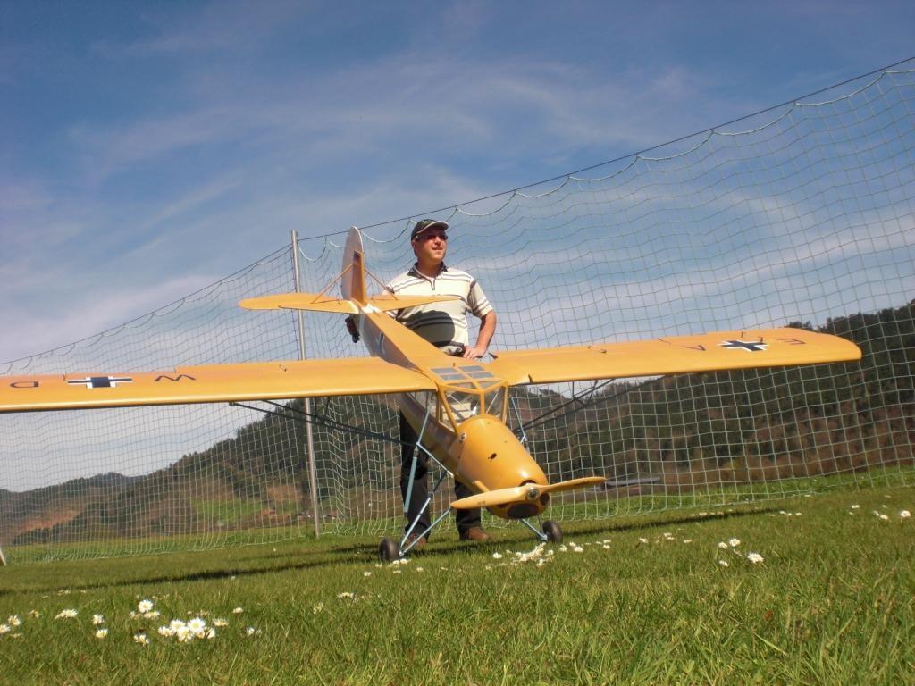 Noch kurz ein Foto mit Pilot