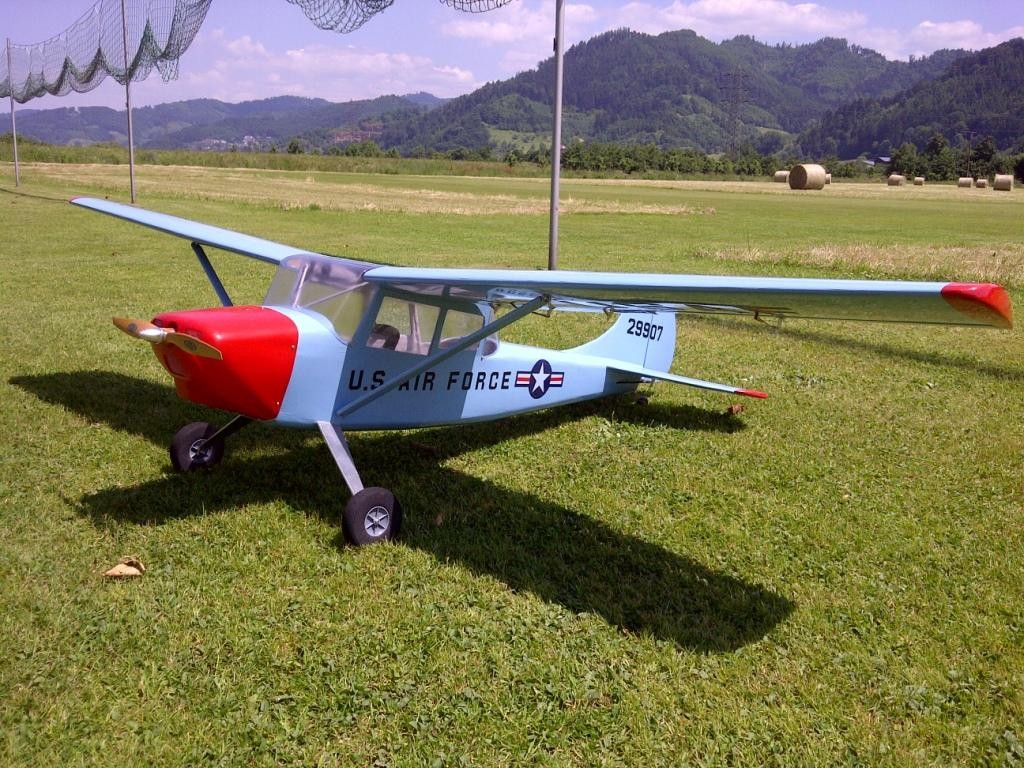 Die Cessna Bird Dog L19 von Bernd ohne Bernd...