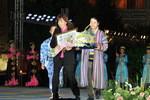Ryuz in Award Ceremony at the International Sharq Taronalari Music Festival