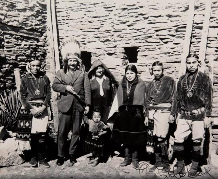 Альберт Эйнштейн в Гранд Каньоне, 1922 год
