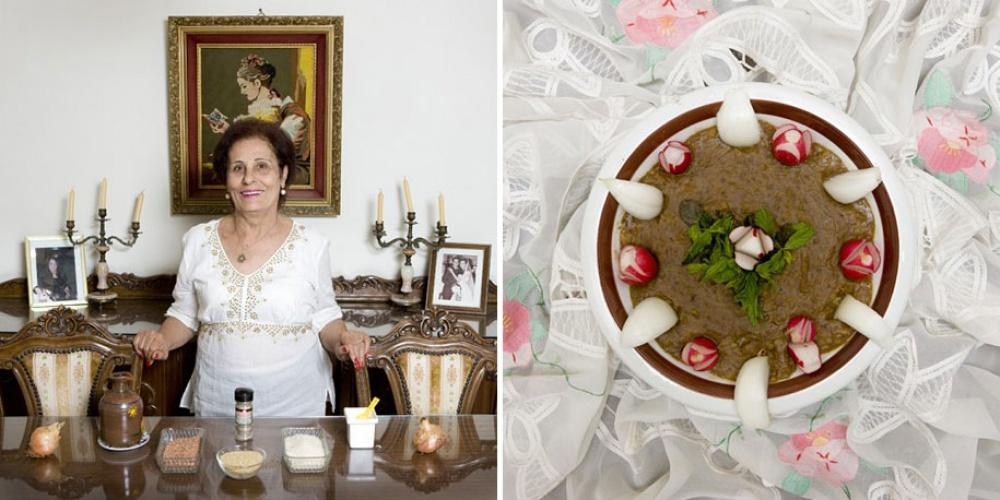 Ливан. Блюдо: рисово-чечевичный крем-суп.