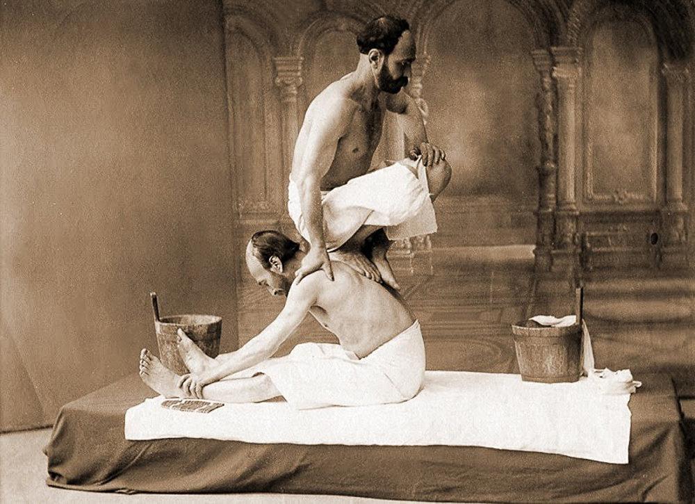 Мекисе (тёрщик в бане)