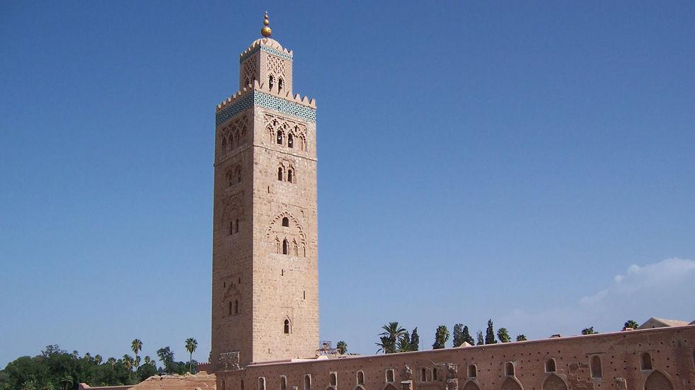 Мечеть Аль-Кутубия в Марокко