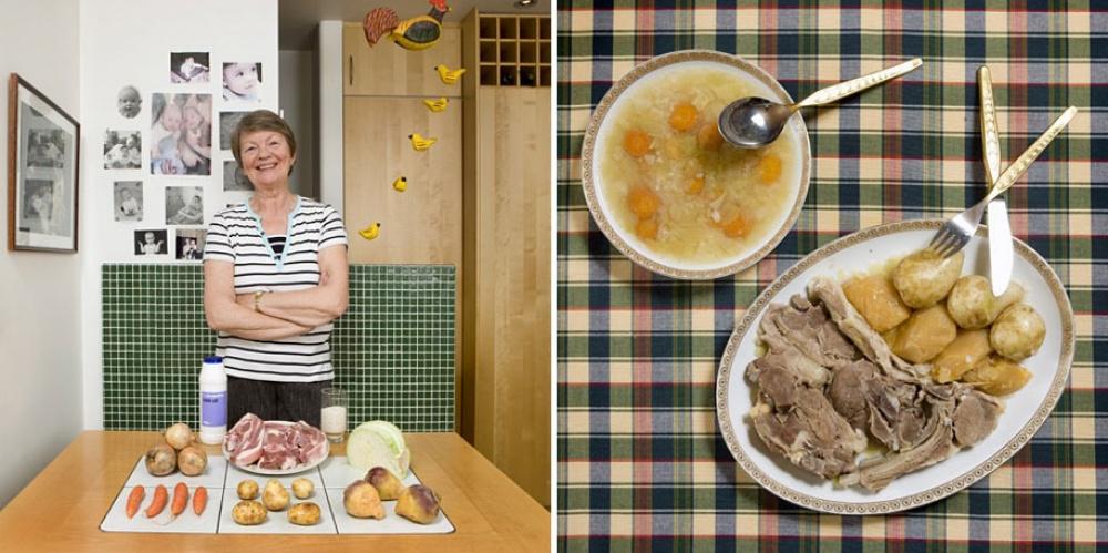 Исландия. Блюдо: суп из баранины.