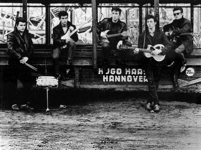 Первая фотосессия The Beatles, 1960 год
