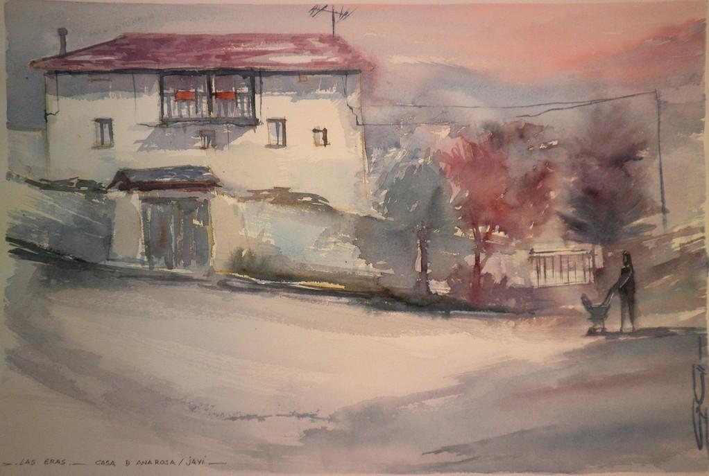 Casa de Ana Rosa y Javi.Las Eras.Gloria Cortina