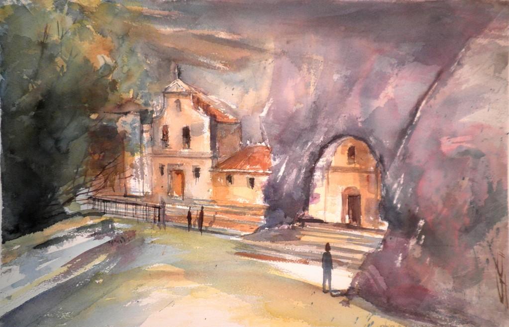 Ermita de S.Bernabe y S.Tirso. Sotoscueva.Gloria Cortina