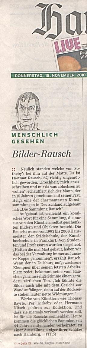 Hamburger Abendblatt 18.11.2010