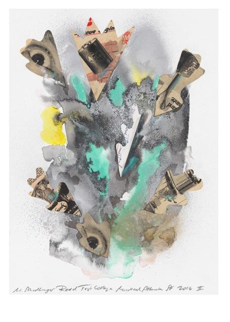 MARCUS SENDLINGER - ROAD TRIP HAMBURG - ARTIST IN POLARRAUMRESIDENCE- Ausstellungseröffnung, Freitag, 20.10.2017, 18 Uhr, Polarraum Hamburg