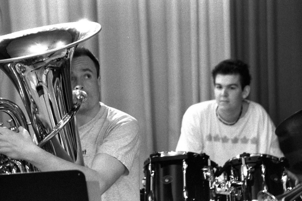 Raphael und Stefan in der Band (Husgmacht)