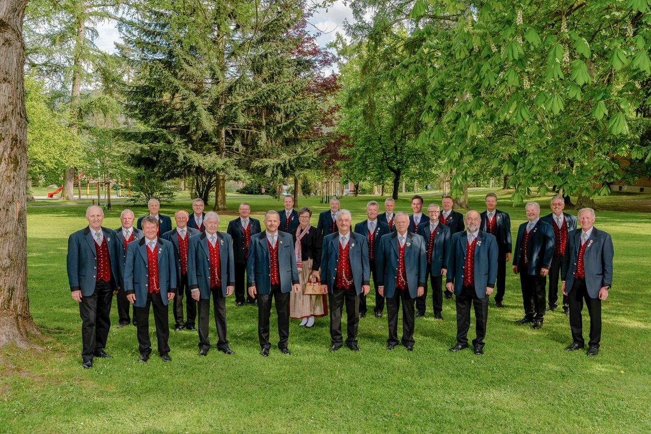 Die Kärntner Sänger im Jahr 2019