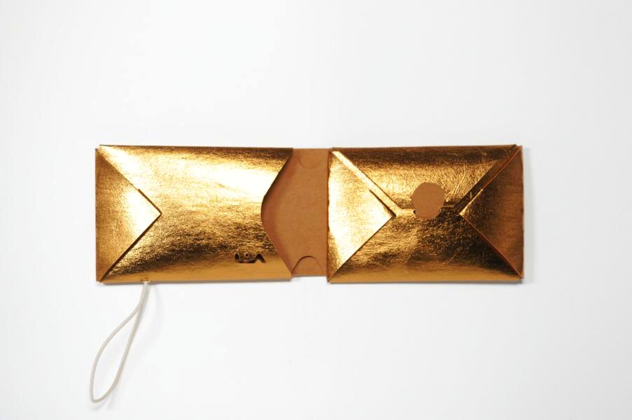 Portemonnaie | Purse REM gold