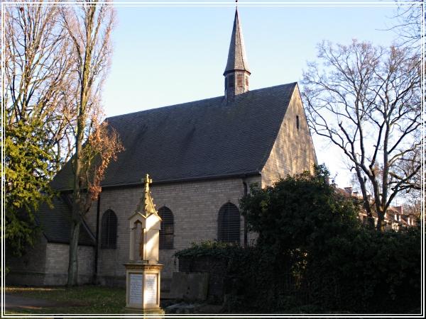 Kapelle, Melaten, Eingang Aachenerstraße