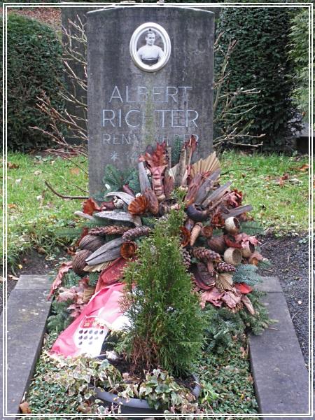 Grabstätte von Albert Richter
