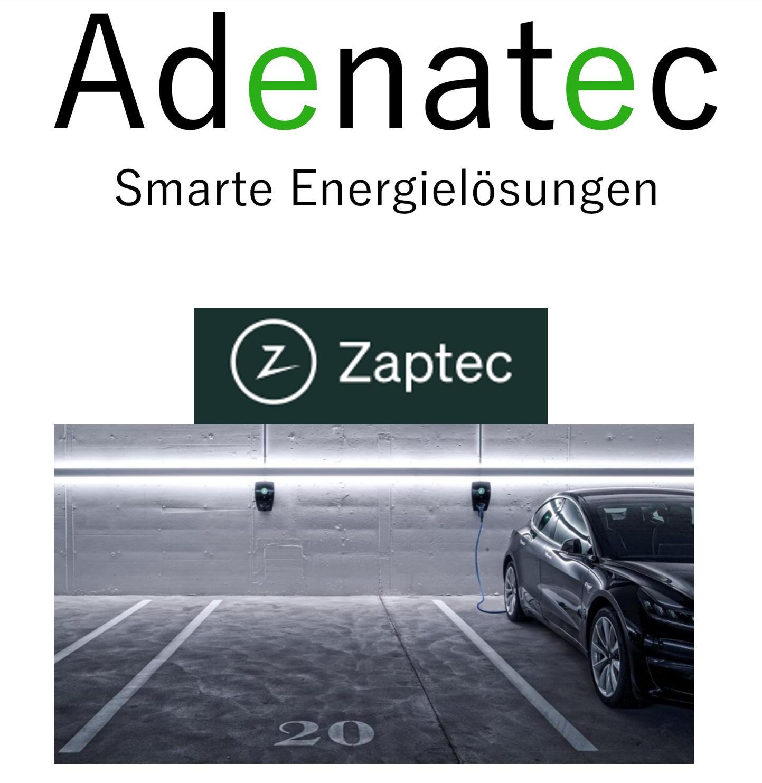 Adenatec wird Zaptec / Novavolt Partner