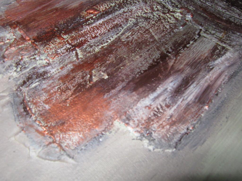 Malen Mit Acryl, Öl Auf Leinwand Und Holzplatten Mit