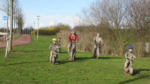 Skulpturen im Neulandpark Leverkusen