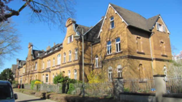 Beamtensiedlung Leverkusen ehemalige Klinik 1898