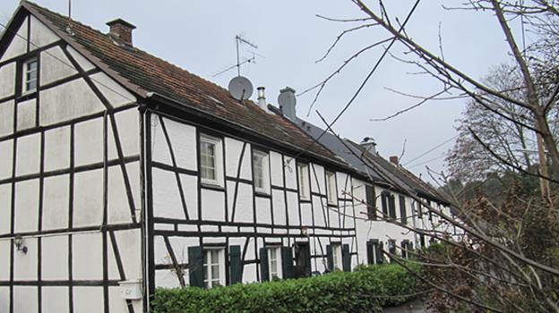 Fabrikationsgebäude der Sprenstoffarbeiter in Köln Dünnwald
