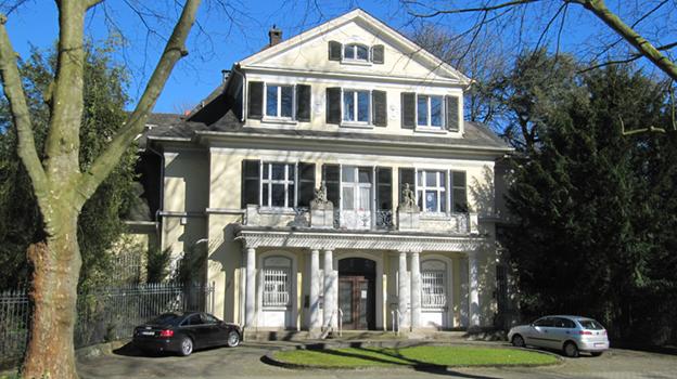 Beamtensiedlung Leverkusen Villa um 1910