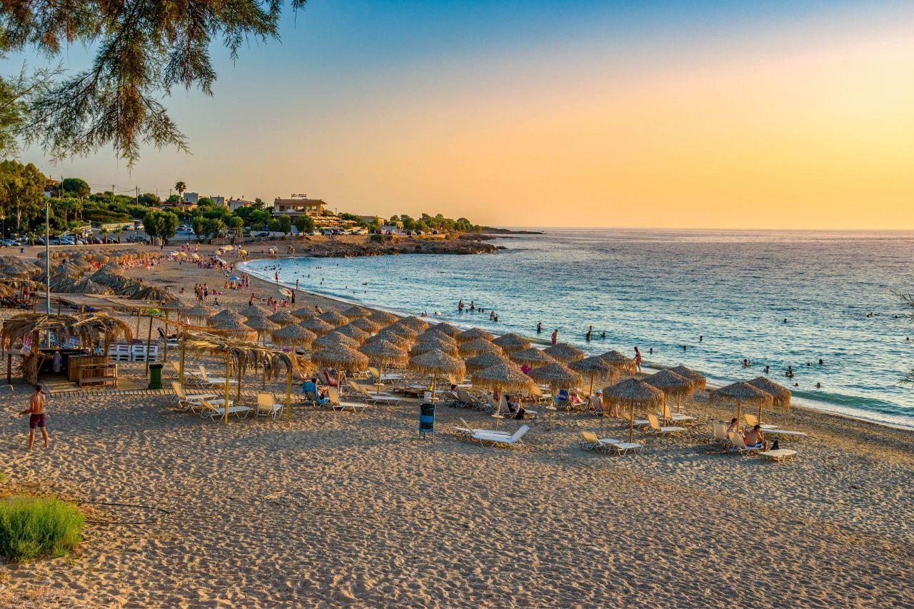 Strand von Kyparissia