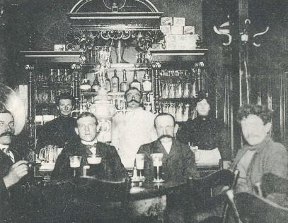 Cafe Schumann Eisenmoorbad Wilsnak 1909