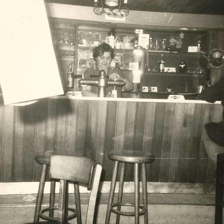 Wirtin in Buxtehude - 60er Jahre