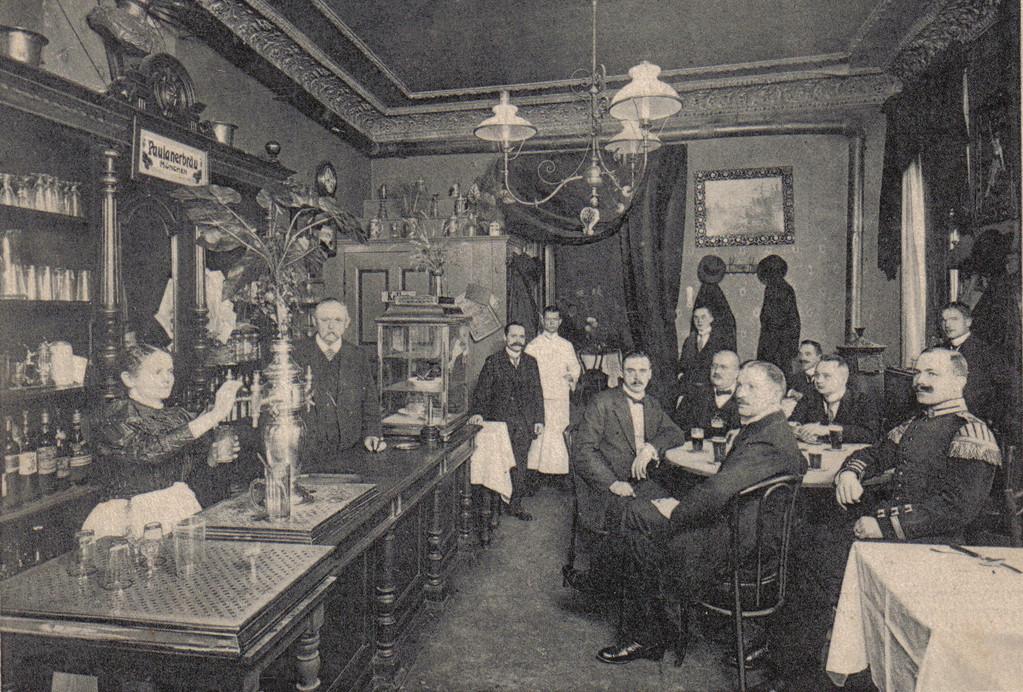 Bürgerliches Restaurant, Hermann Richter, Berlin 1905