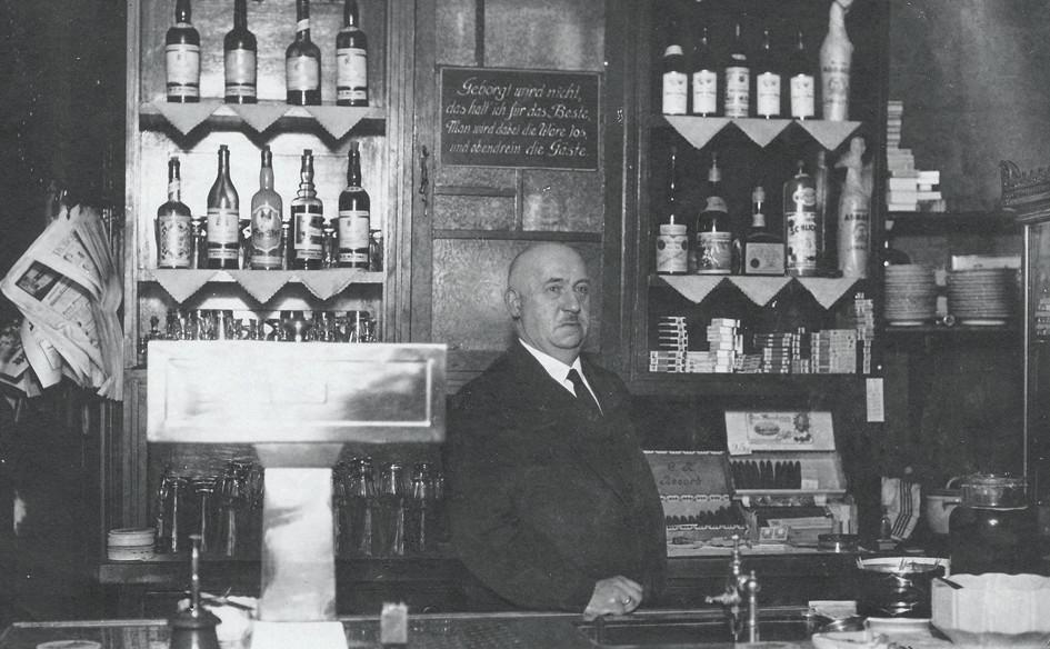 Gasthaus um 1940