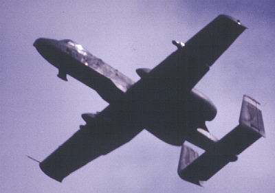 2x Republic A-10 Thunderbolt (USAF)