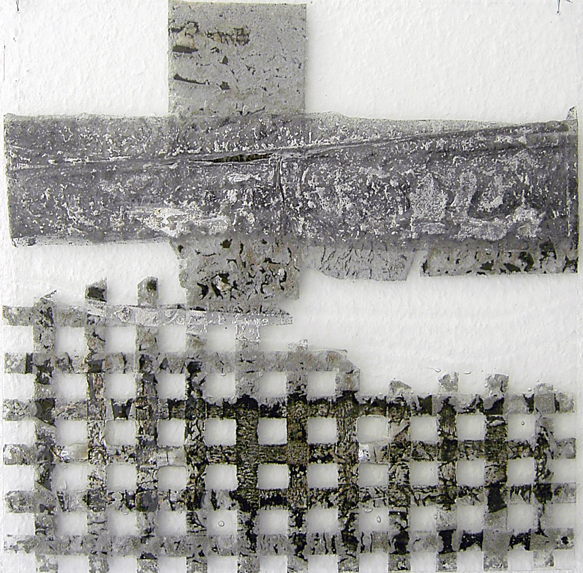 Kreuz 2, 47X47cm  2007