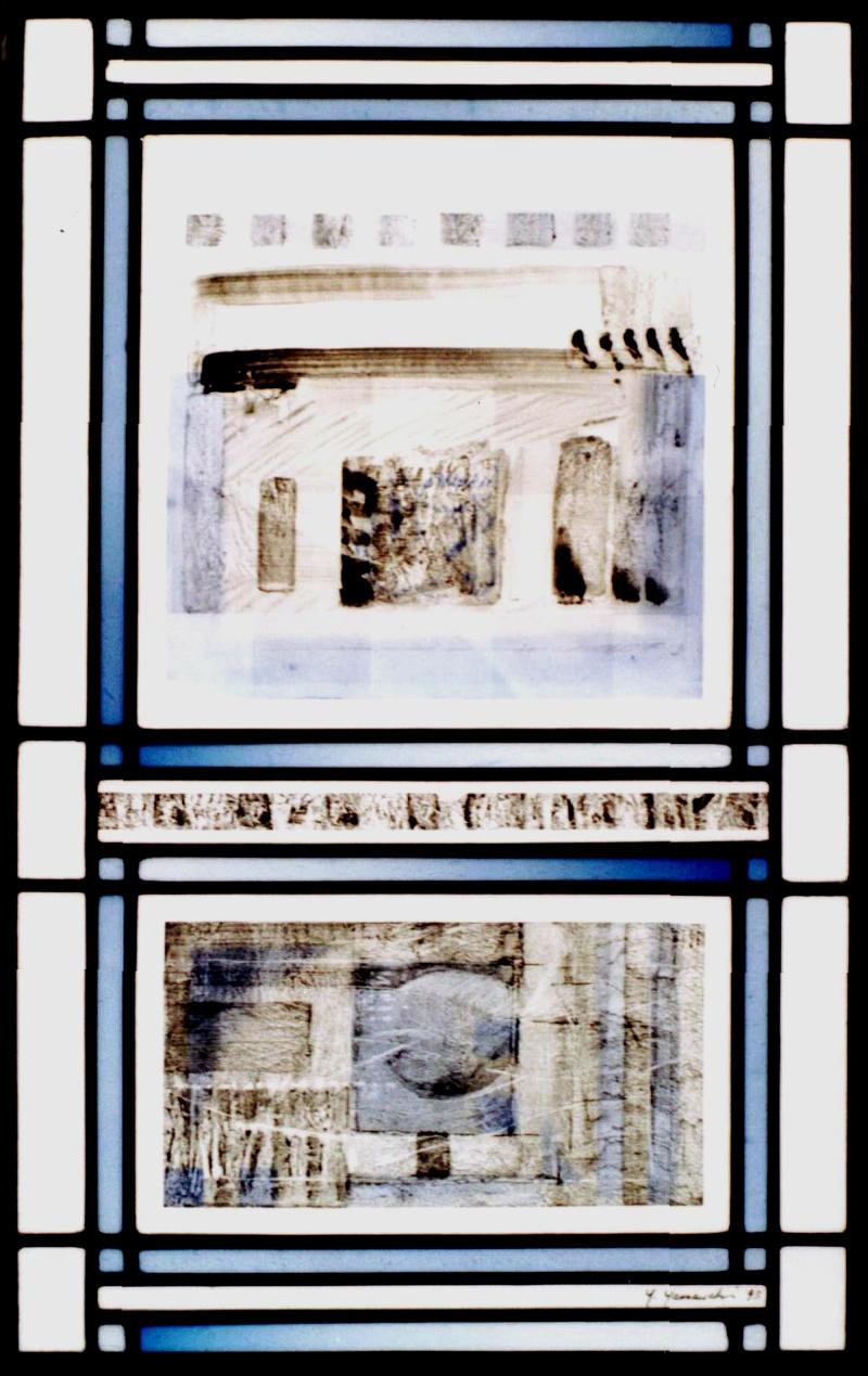 Landschaft 69X43cm 1993
