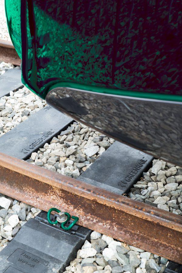© Greenrail™ / Bahnschwellen aus recyceltem Material