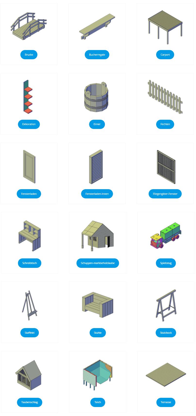 © fredsbauanleitungen.de / über 70 Kategorien für DIY Projekte