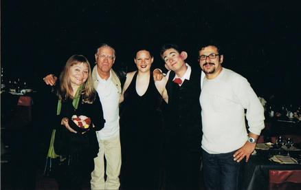 Musikerin Dodo Hug, Musiklegende Toni Vescoli