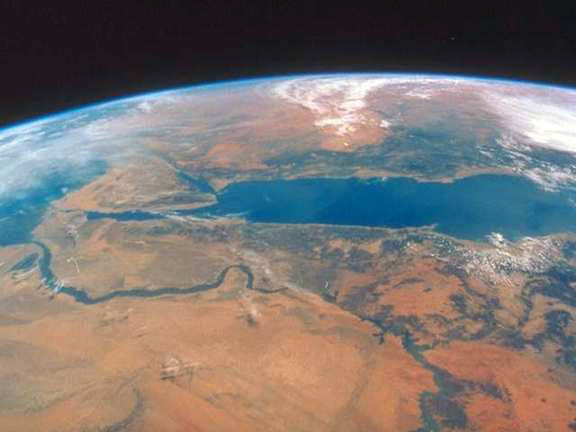 Planet Earth, The Nile and Red Sea
