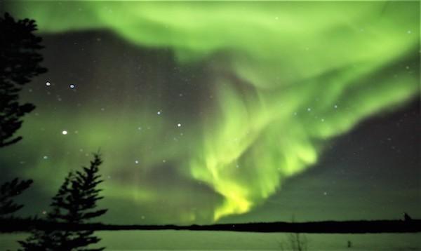 2_カナダ・オーロラ鑑賞旅行 イエローナイフにて