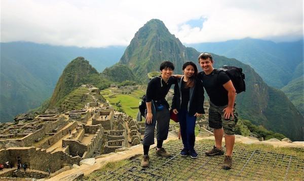 南米縦断旅行 ペルー・マチュピチュにて
