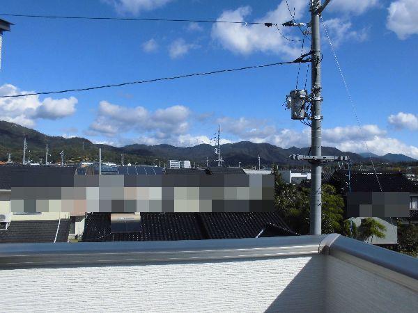 屋上のある家