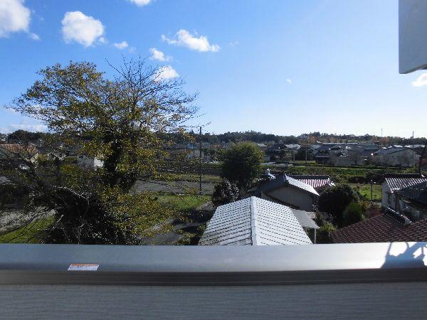屋上から眺めの良い家