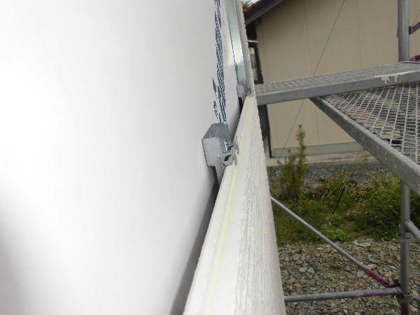 外壁通気工法の家