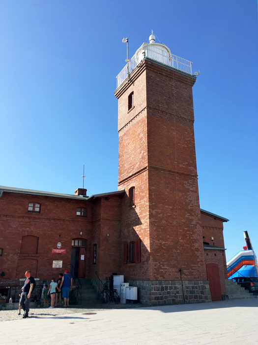 Leuchtturm Darlowko - Darlowo, Rügenwalde