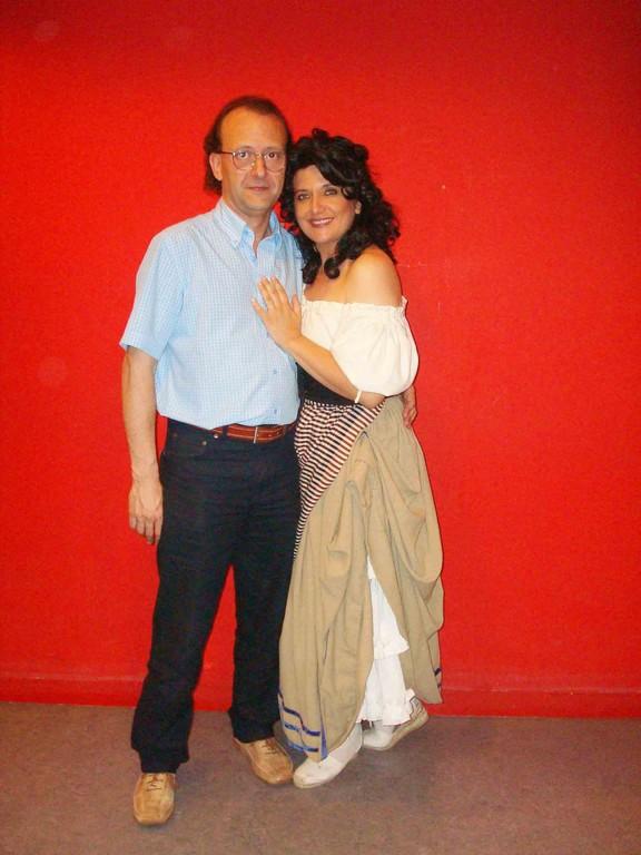 CARMEN 2008 con mi querido  amigo Eliberto