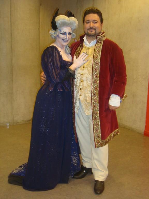 """La Flauta Mágica 2011 con """"Tamino"""" Jesús Quílez"""