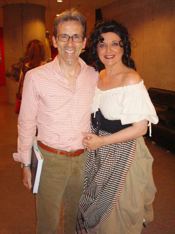 Con Andrés Ibiricu en CARMEN 2008