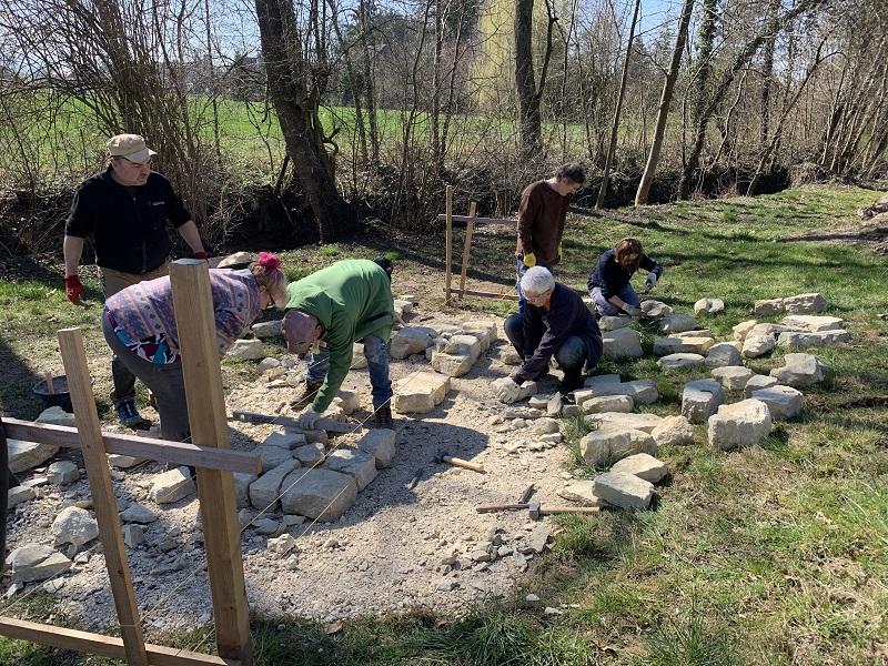 Trockenmauern bauen