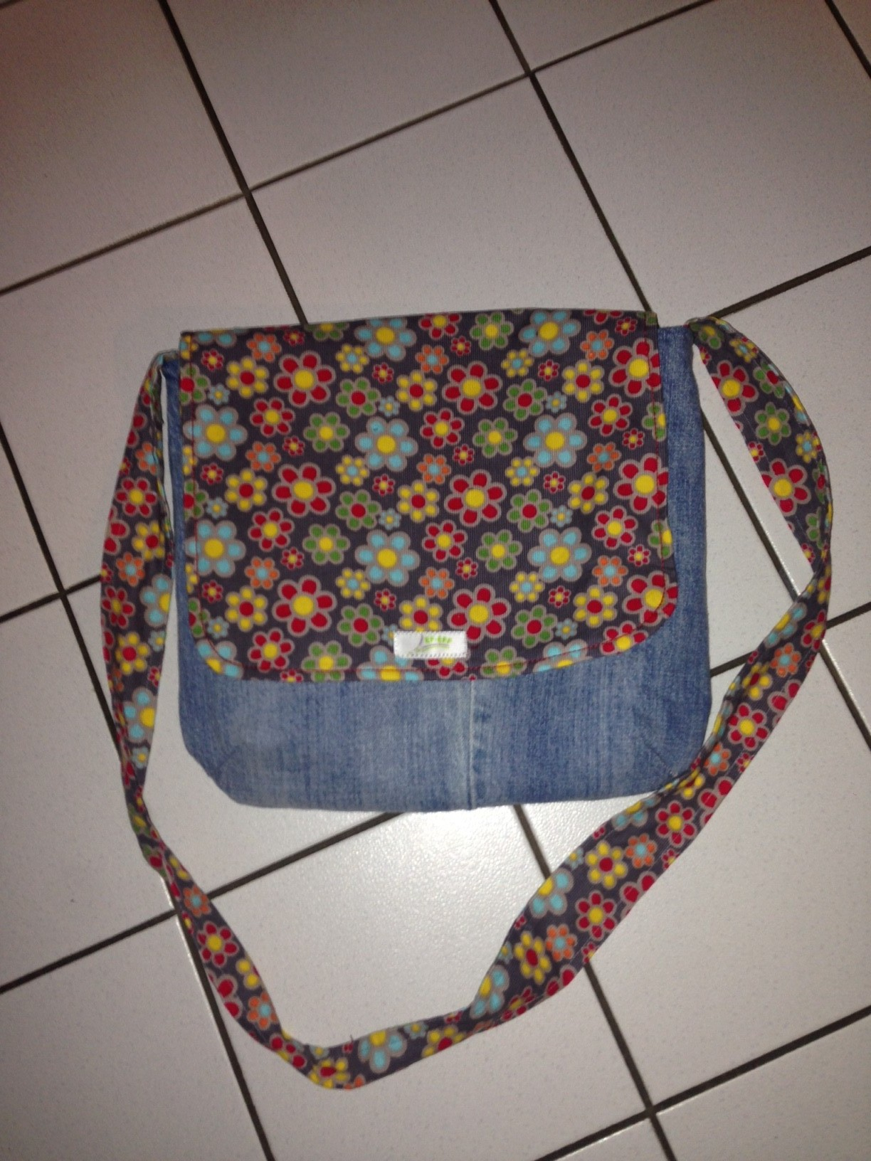"""FLAP BAG"" Flower Power"