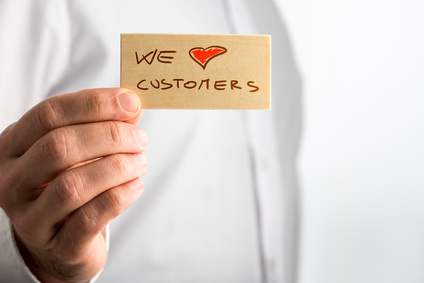 We love Customers - wir lieben Kunden!