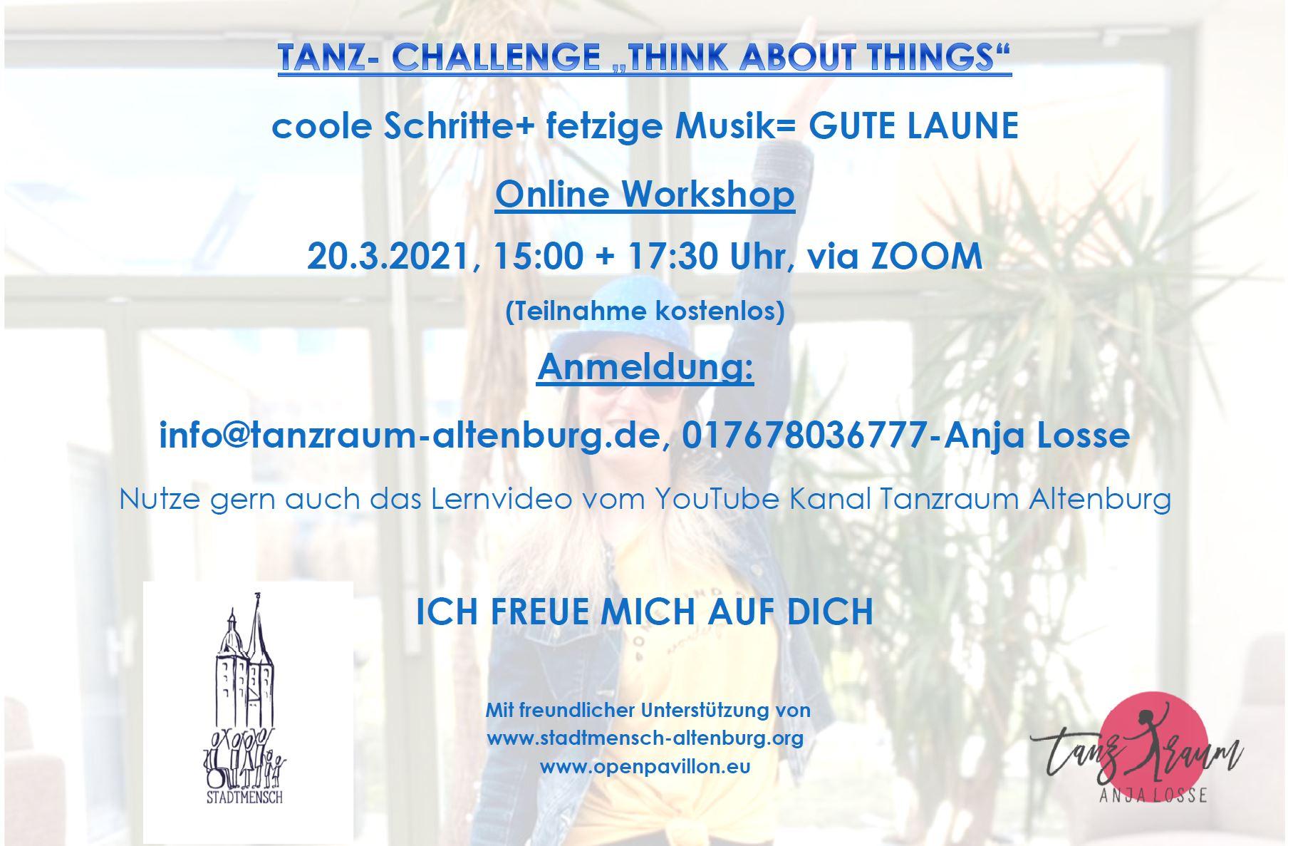 Tanzraum Altenburg startet nächste Tanz-Challenge